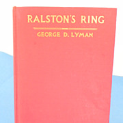 REDUCED Ralston's Ring Book by George D. Lyman