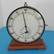 Junghans Stop-Timer Clock - Unusual & Scarce