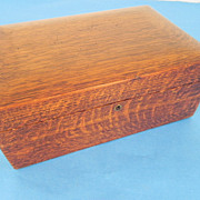 REDUCED Swift Wood Humidor Box