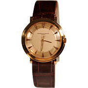 Vacheron & Constantin Men's Watch 18K Solid Gold