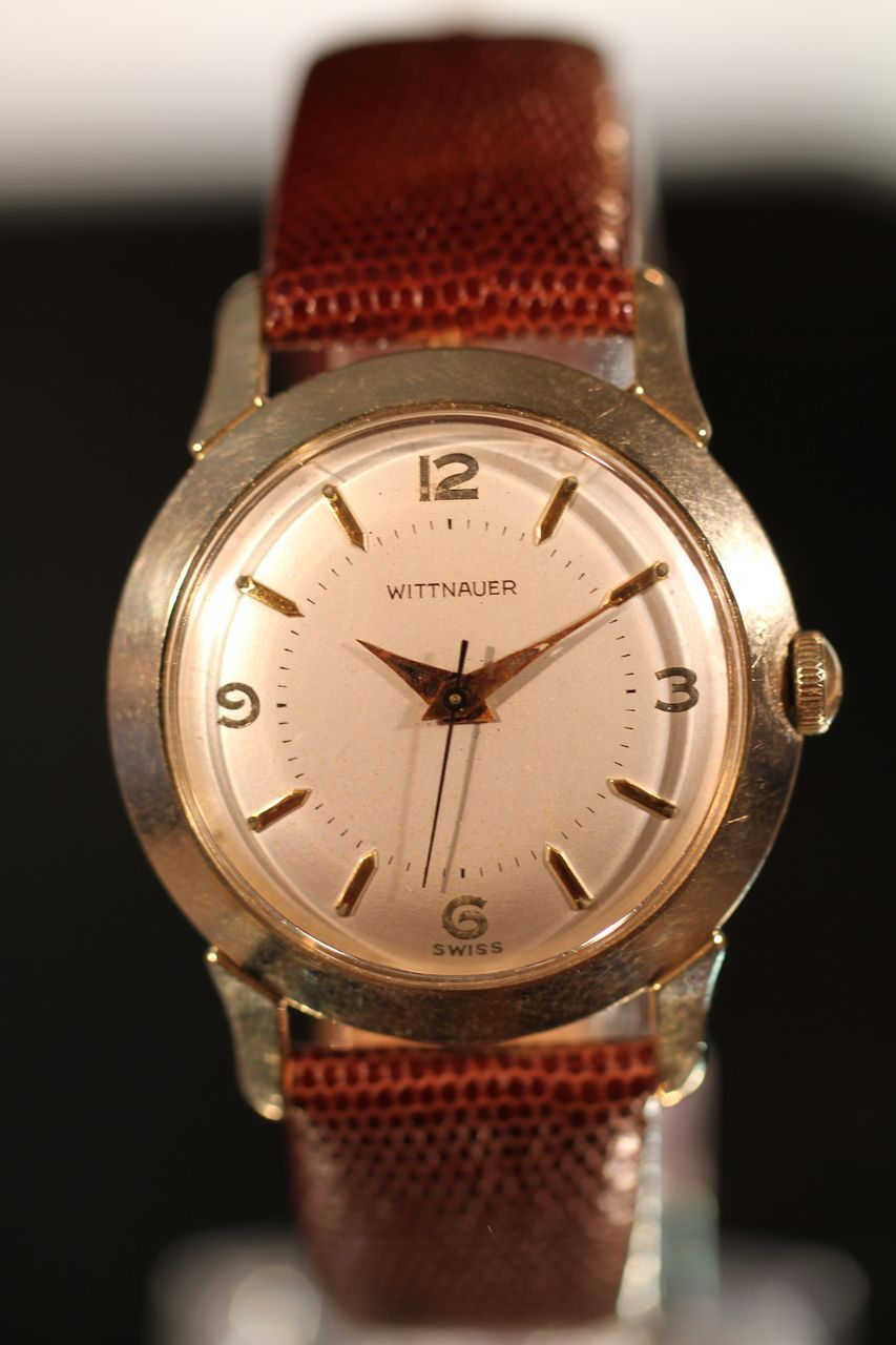 Classic Wittnauer Mens Watch, Vintage Swiss from