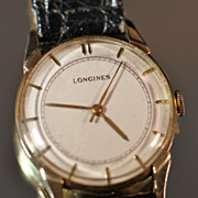 1948 Longines 14K Gold Men's Vintage Watch