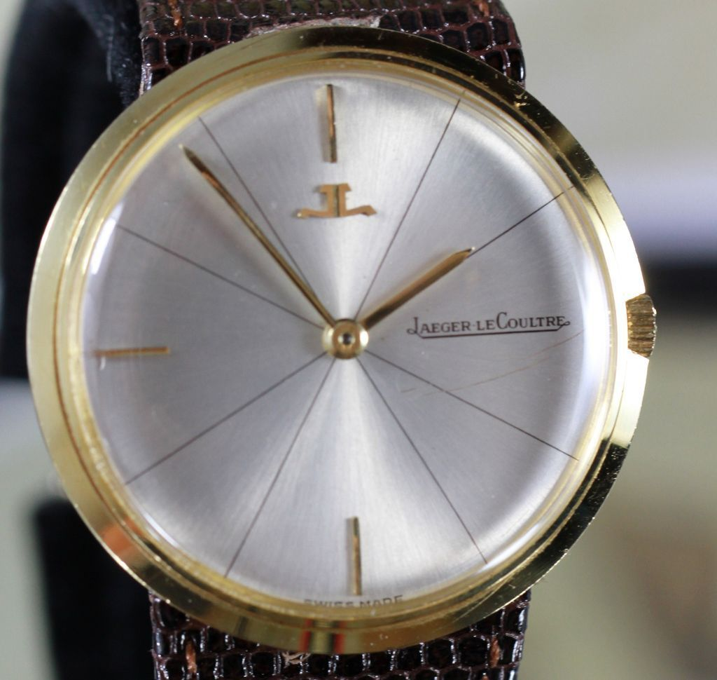 1973 jaeger lecoultre 18k gold vintage s from