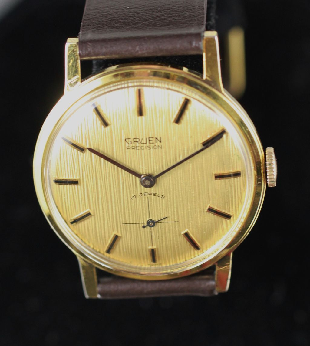 dating vintage gruen watches Otai vintage watches  gruen precision automatic 25 jewel - sold hai  make: vintage gruen model: precision manufacture date: .