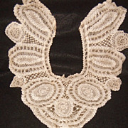 Antique Victorian Princess Lace Dress Inset