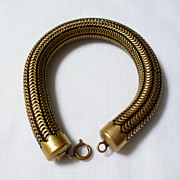 Joseff of Hollywood thick rope bracelet