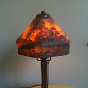 SOLD Handel lamp boudoir