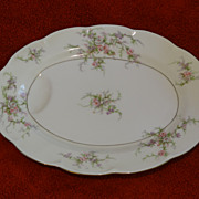 Haviland Roselinde small oval platter