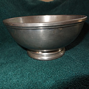 Colonial Williamsburg Stieff Pewter bowl