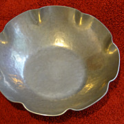 FWG hand-hammered arts and crafts style vintage bowl
