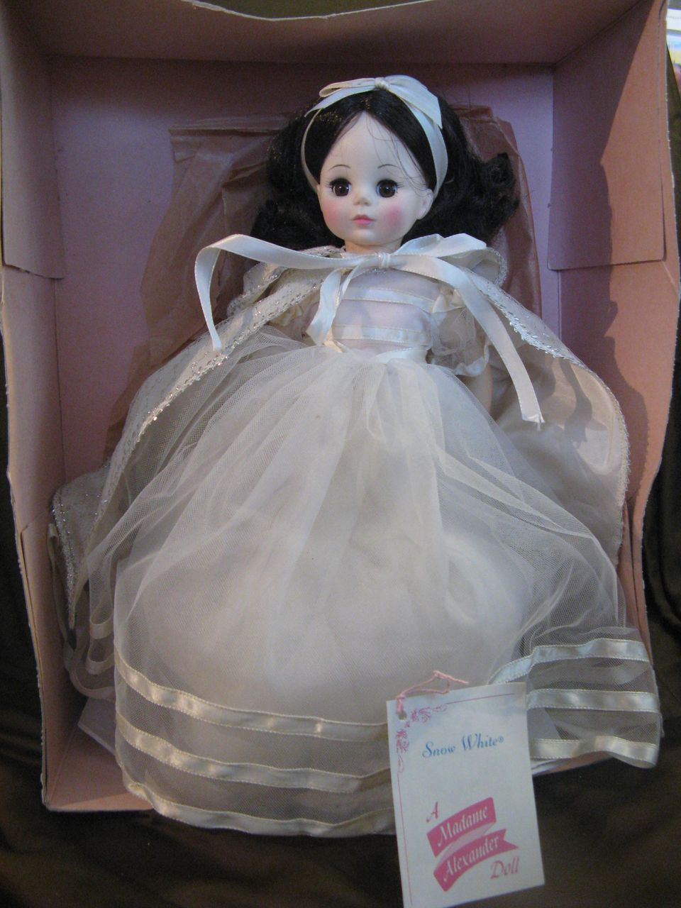 "Vintage 1965 Madame Alexander Snow White 14"" Mint Box"