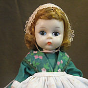 "Vintage Madame Alexander Bent Knee ""Irish"" Doll"