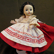 Madame Alexander Russian International Collection Doll, 1966-1972