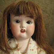 Antique Bisque Fulper Doll Made in USA - 19&quot;