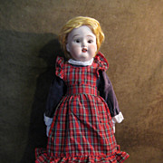 Blond Bisque Fulper Doll Made in USA - 19&quot;