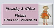 Dorothy & Albert Vintage Dolls and Collectible