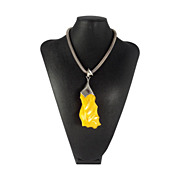 Baltic Amber Pendant Necklace Large 116.5 Grams