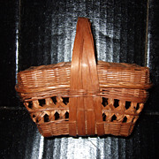 Doll Size Wicker Basket