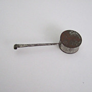 Old Tin Baby Rattle