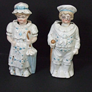Antique German Nodders