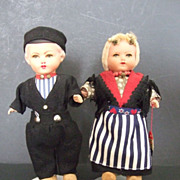 Par of Rozetta Dolls