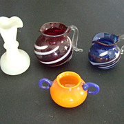 Early Dollhouse Glass Ware