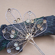 SALE Vintage Hair Comb Indonesia Sumatra Wedding Bridal Headdress