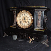 SOLD Seth Thomas &quot;ADAMANTINE&quot; Mantle Clock 8 day, C 1896