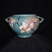 REDUCED Roseville Pottery Magnolia Jardiniere #665-5