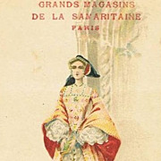 Early Fashion Series Palais du Costume 'Renaissance' Postcard c1900