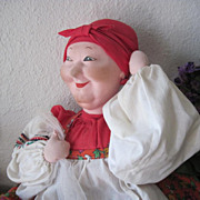 SALE Vintage Russian Tea Cozy Cloth Doll