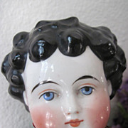Antique Kestner German Dolley Madison China Head Doll All Original