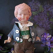SALE 1916 Hansi by Wagner & Zetzsche Harolit Art Doll