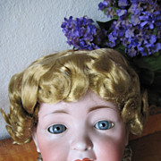 SALE Vintage 1950s Saran Doll Wig for Large Doll
