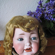 SALE Vintage 1950s Saran Doll  Long Curl Doll Wig for Large Doll
