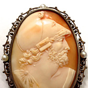 Shell Cameo of Menelaus, King of Sparta