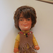 REDUCED Mickey Dolenz Monkees Finger Puppet Vintage 1960 Doll