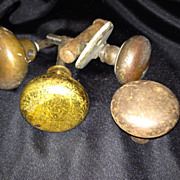 Collection of Antique Doorknobs I