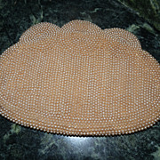 SOLD Flapper's 1920's Beaded Purse