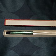 Esterbrook Green Celluloid Desk Pen New in Original Box