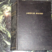 Bound Volume of American Mercury Magazine, January - June 1959