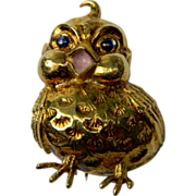 Cheap Cheap Chick brooch (0411)