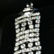 Vintage Signed WEISS Rhinestone Bracelet - Stunning