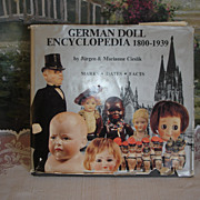 SOLD German Doll Encyclopedia 1800 -1939, Cieslik-Hold for Janet