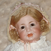 SALE 116A Kammer Reinhardt Pretty Baby in Wonderful Clothes.  Doll Released from home.