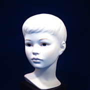 Lovely Cybis Bisque Sculpture of Boy from Hall of Fame Collection