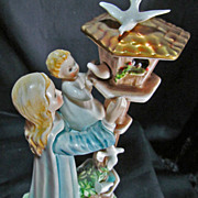 SALE Goebel Charlot Byj figure West Germany MADONNA OF THE DOVES