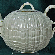 Ott & Brewer American Belleek Teapot