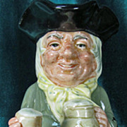 Toby Jug Royal Doulton Happy John Large D6031