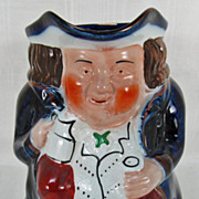 Toby Jug Squat Philpot Flow Blue Allertons Ltd. England